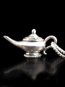 Arabian Nights - Magic Lamp Charm - Silver