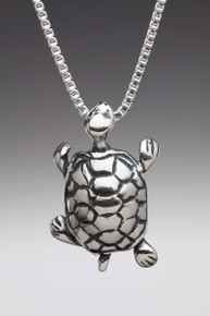 Alice - Mock Turtle Charm - Silver