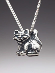 Alice - Cheshire Cat Charm - Silver