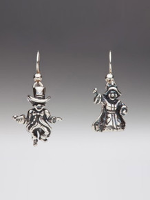 Alice - Mad Hatter and Queen of Hearts Earrings