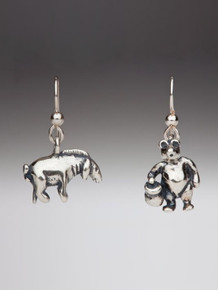 Classic Winnie the Pooh - Pooh and Eeyore Earrings