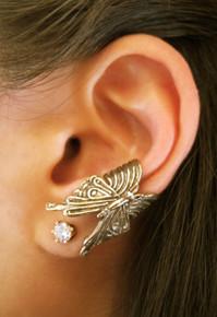Butterfly Ear Cuff - Bronze