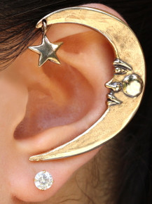 Moon Ear Wrap - Bronze