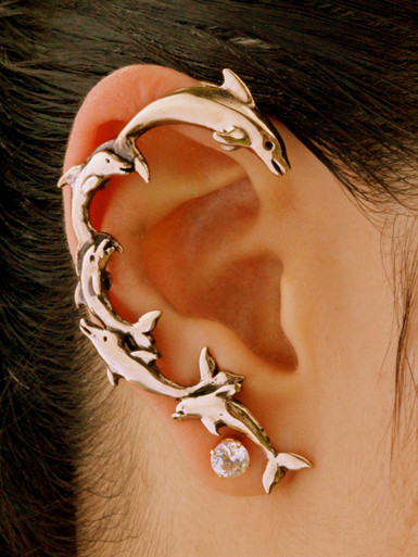 Dolphin Ear Wrap Bronze Marty Magic Store