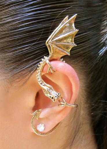 Elfin Dragon Ear Wrap Bronze Marty Magic Store