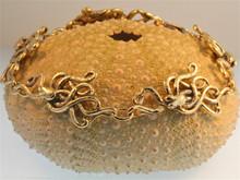 Gold 5 Link Octopus Bracelet - 14k Gold
