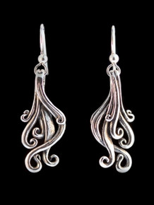 Cascade Earrings - Silver