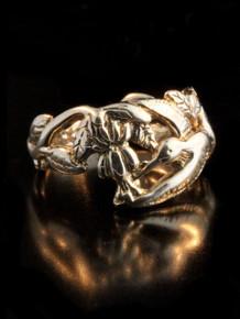 Hummingbird Ring - 14k Gold