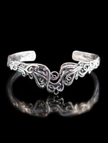 Cascade Waterfall Cuff Bracelet - Silver
