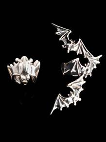 EAR CUFF SPECIAL -  Bat Ear Cuff Combo Special - Buy 2 Get 1 Ear Cuff Free