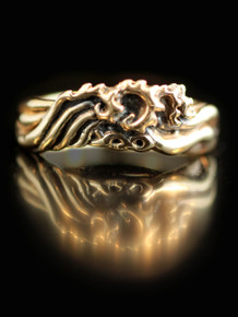 Eternity Wave Ring - 14K Gold