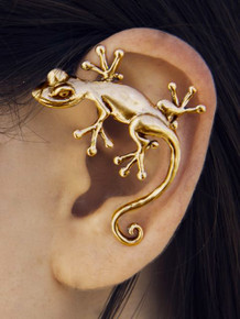 Simple Gecko Ear Wrap - Bronze