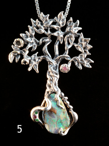 Primeval Forest Tree Pendant #5
