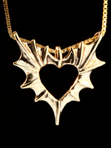 Phantom Heart in 14k gold