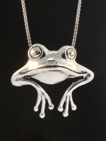 Frog - Good Luck Frog Pendant