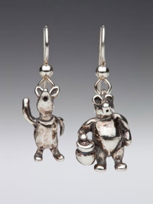 Classic Winnie the Pooh - Pooh and Piglet Earrings