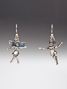 Classic Peter Pan - Peter Pan and Tinkerbell Earrings