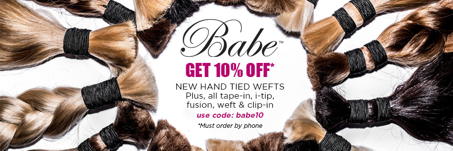 10% off Babe hair extensions