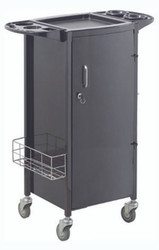 Savvy Trolley with Metal Locking Door #531-B