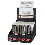 Bodyography A Kiss to the Classics Satin Matte Lipstick Display (BD-CL-9110)