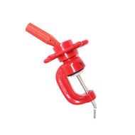 Red Plastic Wheel Clamp