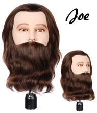 "Deluxe Male Bearded Mannequin: 10"" Joe"