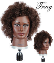 Deluxe HairArt Mannequin for CURLY HAIR: Tracy