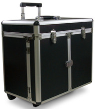 Hairart Aluminum Beauty Case with Trolley and Trays