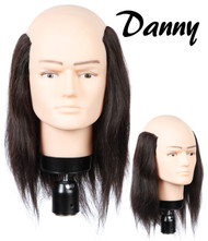 "Top Bald Male Mannequin: 10"" Danny"