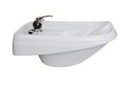 Keen Torino Wall Mount Ceramic Bowl-White