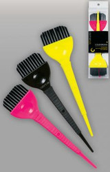 3 Pack Wide Color Brushes