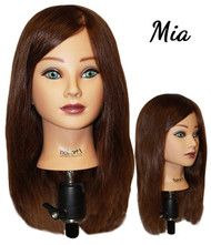 "18"" Mia Female Mannequin Head"