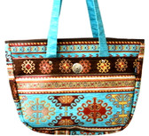 Turkish Velvet Handbag-31