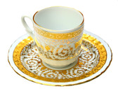 Turkish Porcelain Coffee Cup #10