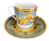 Turkish Porcelain Coffee Cup #12