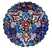 Turkish Ceramics~7 inch Plate-navy