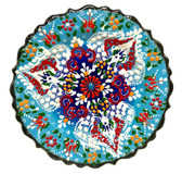 Turkish Ceramics~7 inch Plate-blue