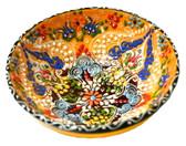 Turkish Ceramics~Large Bowl~yellow