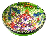 Turkish Ceramics~Medium Bowl~green