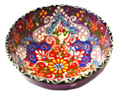 Turkish Ceramics~Medium Bowl~purple
