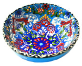 Turkish Ceramics~Medium Bowl~blue