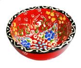 Turkish Ceramics~Small Bowl~red
