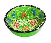 Turkish Ceramics~Small Bowl~green