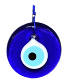 "Glass Evil Eye-diameter 3.5"" (9cm)"