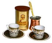 Turkish Coffee Cup Set #1