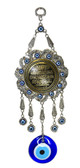 Nazar Prayer  Wall Decor-round-metal