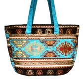 Turkish Velvet Handbag-3