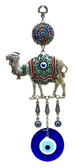 Camel & Evil Eye Wall Decor-metal/glass 12.5 inches (31cm)