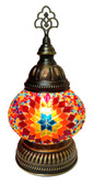 Glass Mosaic Desktop Lamp-short-3