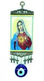 Evil Eye Wall Decor-Sacred heart Mary
